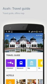Aceh: Offline travel guide poster