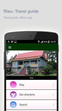 Riau: Offline travel guide poster