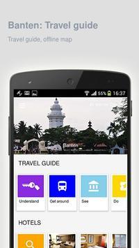 Banten: Offline travel guide poster