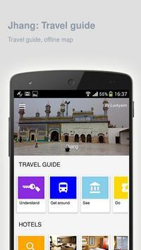 Jhang: Offline travel guide poster