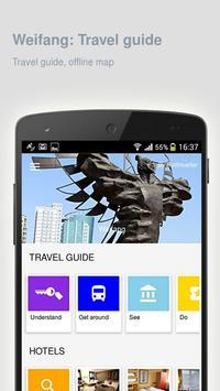 Weifang: Offline travel guide poster