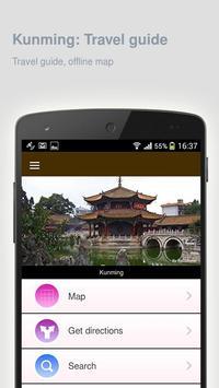 Kunming: Offline travel guide poster