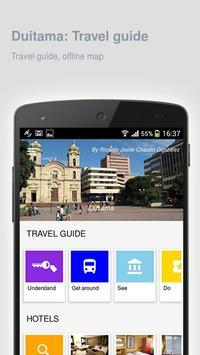 Duitama: Offline travel guide poster