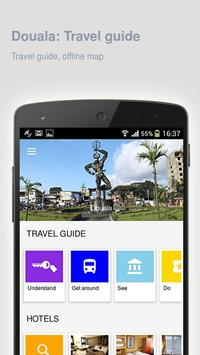 Douala: Offline travel guide poster
