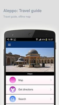 Aleppo: Offline travel guide poster