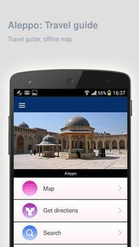 Aleppo: Offline travel guide apk screenshot