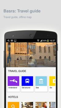 Basra: Offline travel guide poster