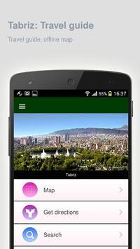 Tabriz: Offline travel guide apk screenshot