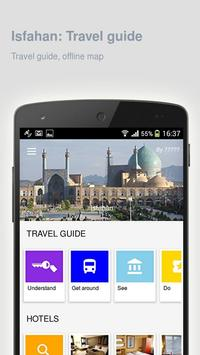 Isfahan: Offline travel guide poster