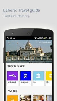 Lahore: Offline travel guide poster