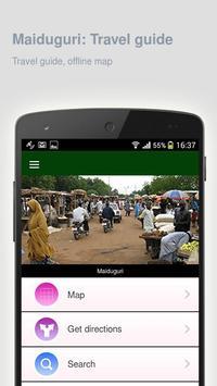 Maiduguri: Travel guide poster