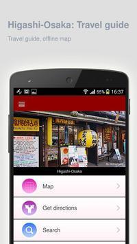 Higashi-Osaka: Travel guide apk screenshot
