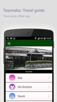 Toyonaka: Offline travel guide apk screenshot
