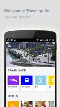 Wakayama: Offline travel guide poster