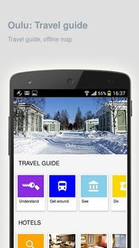 Oulu: Offline travel guide apk screenshot