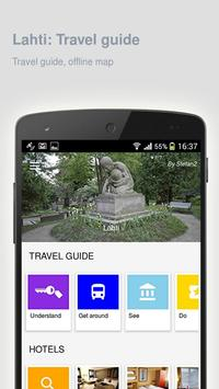 Lahti: Offline travel guide apk screenshot