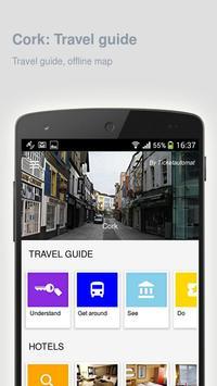 Cork: Offline travel guide poster