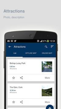 Cork: Offline travel guide apk screenshot