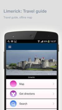 Limerick: Offline travel guide poster
