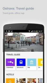 Ostrava: Offline travel guide poster