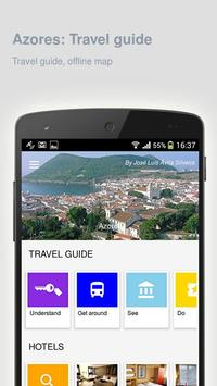 Azores: Offline travel guide poster
