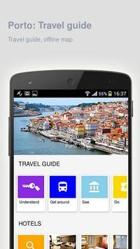Porto: Offline travel guide poster