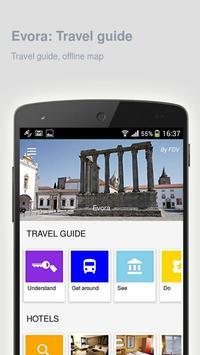 Evora: Offline travel guide poster