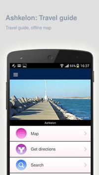 Ashkelon: Offline travel guide screenshot 4