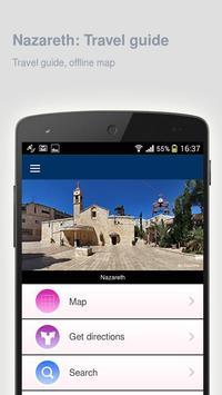 Nazareth: Offline travel guide poster