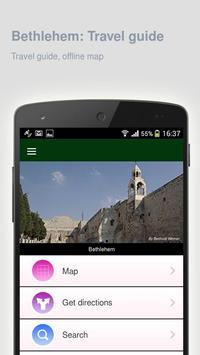 Bethlehem: Travel guide poster