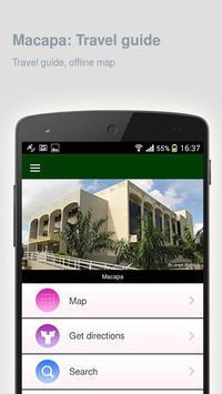 Macapa: Offline travel guide apk screenshot