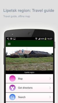 Lipetsk region: Travel guide apk screenshot