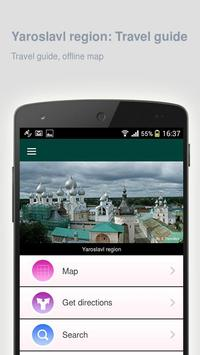 Yaroslavl region: Travel guide poster
