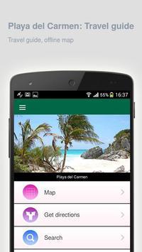 Playa del Carmen: Travel guide poster