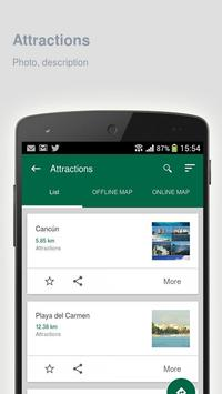Cancun: Offline travel guide apk screenshot