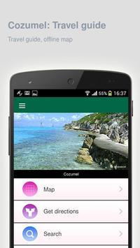 Cozumel: Offline travel guide apk screenshot