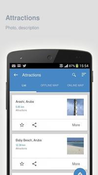 Aruba: Offline travel guide apk screenshot