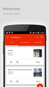 Montreal: Offline travel guide apk screenshot