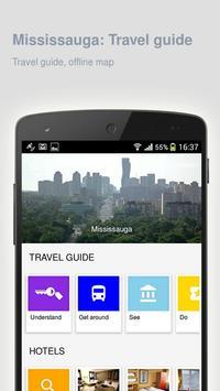 Mississauga: Travel guide poster