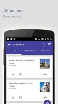 Miami: Offline travel guide apk screenshot