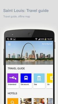 Saint Louis: Travel guide poster