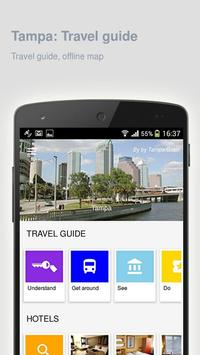 Tampa: Offline travel guide poster