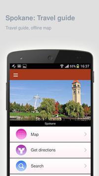 Spokane: Offline travel guide apk screenshot