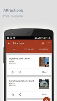 Fayetteville: Travel guide apk screenshot