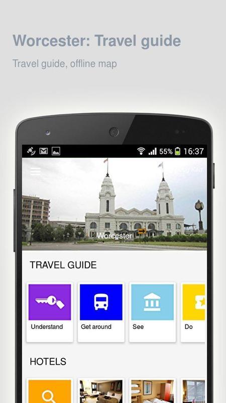 Worcester: travel guide apk download   apkpure. Co.