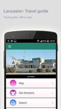 Lancaster: Travel guide apk screenshot