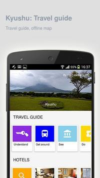 Kyushu: Offline travel guide poster