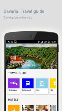 Bavaria: Offline travel guide poster