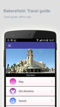 Bakersfield: Travel guide apk screenshot
