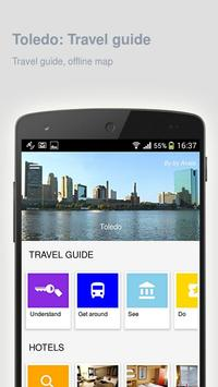 Toledo: Offline travel guide poster